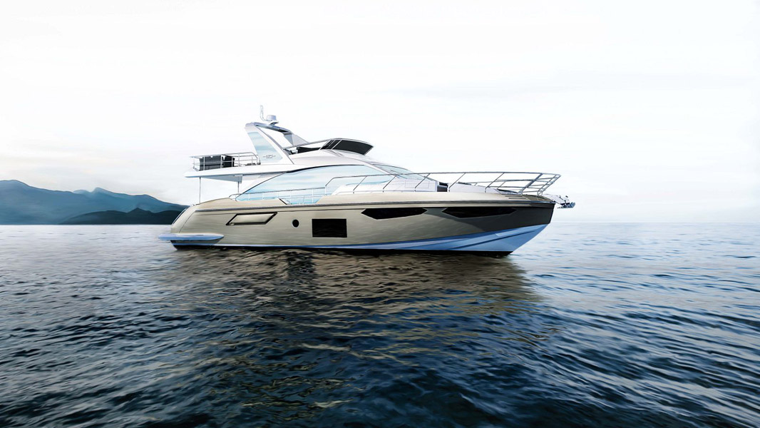 Used Azimut 60 Flybridge Yacht for sale