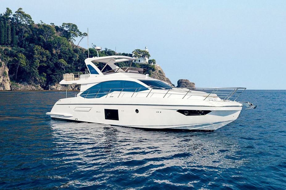 Used Azimut 55 Flybridge Yacht for sale