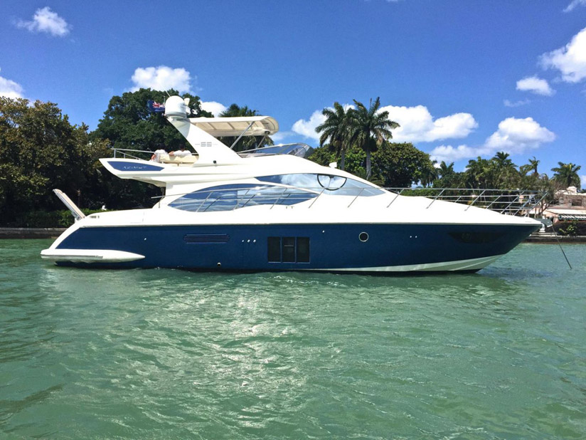 Used Azimut 53 Flybridge Yacht for sale
