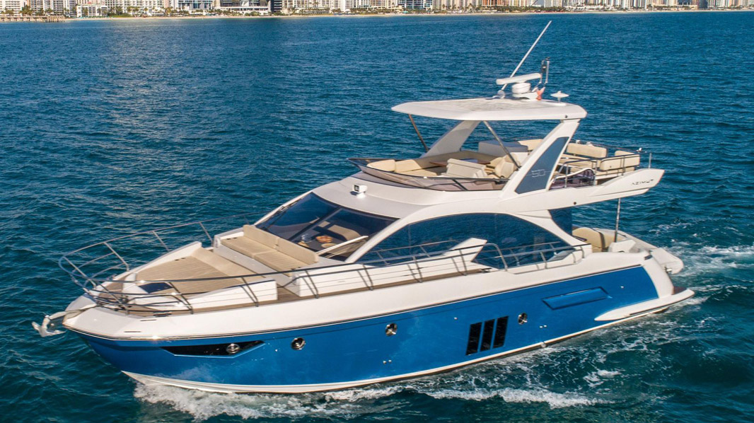 Used Azimut 50 Flybridge Yacht for sale
