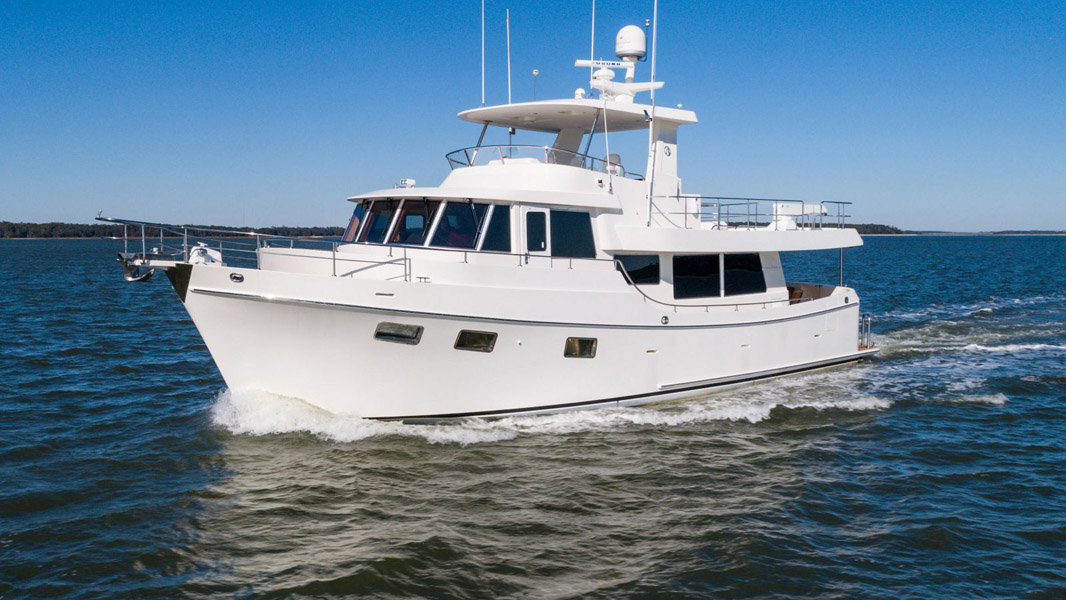 Used Ocean Alexander 60 Motor Yacht For Sale