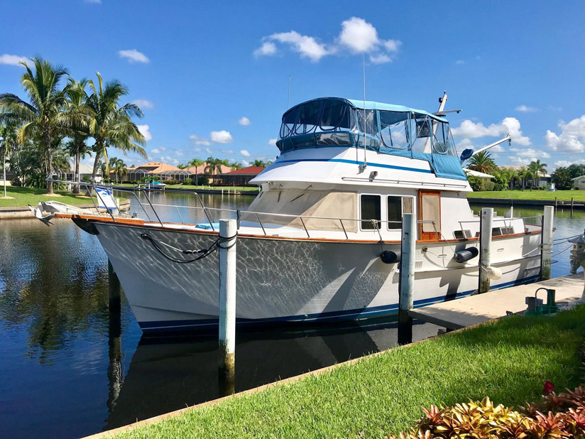 Used Ocean Alexander 43 Double Cabin Yacht For Sale