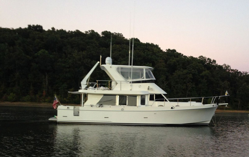 Used Ocean Alexander 40 Trawler Yacht For Sale