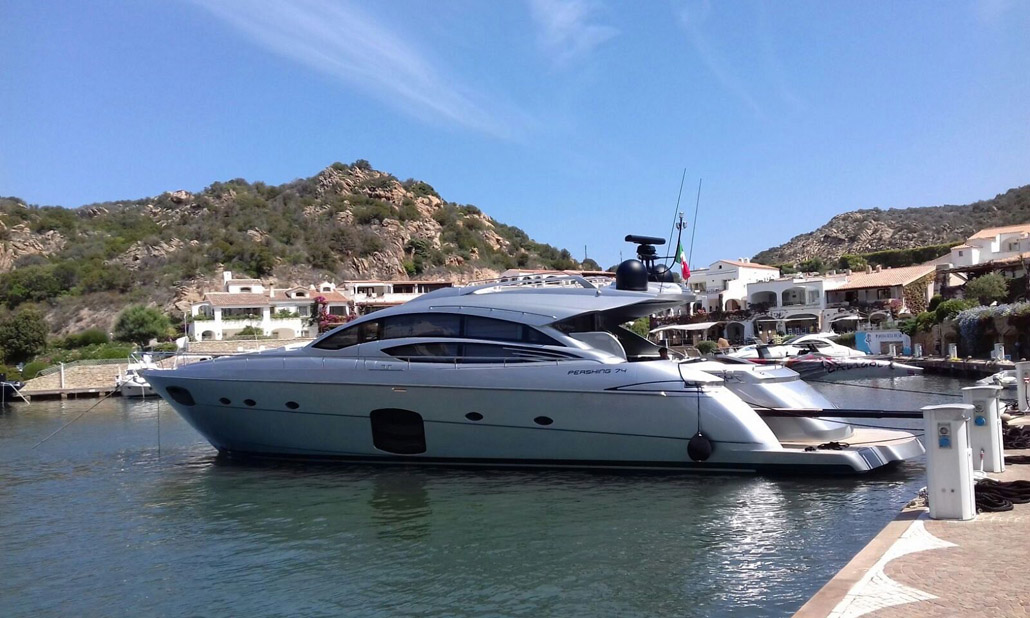 Used Pershing 74 Motor Yacht For Sale