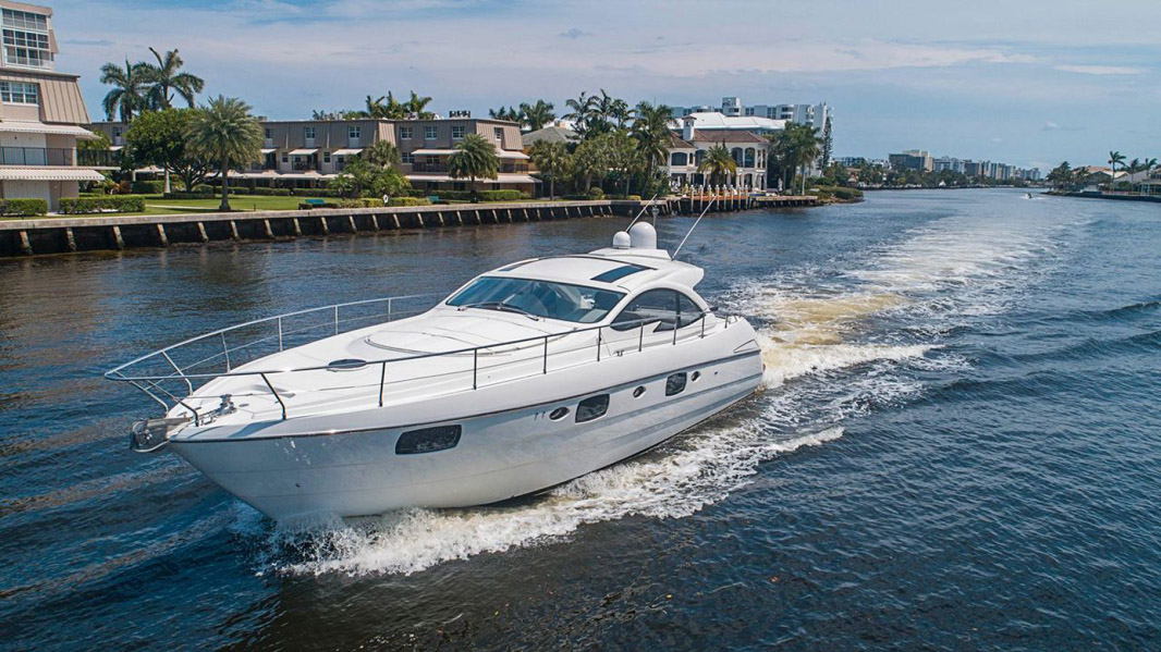Used Pershing 50 Express Cruiser Yacht For Sale