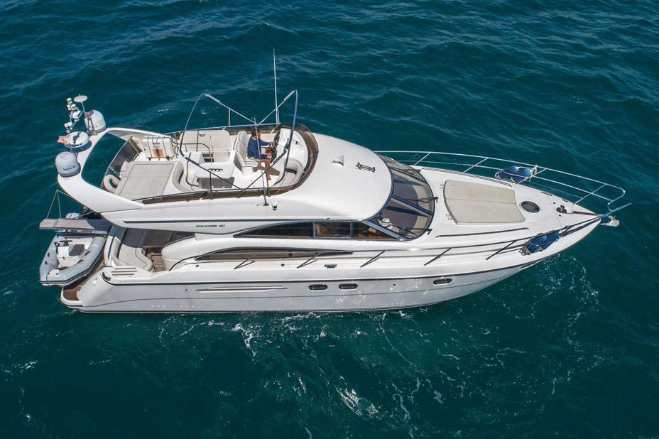 Used Princess 50 Flybridge Yacht For Sale