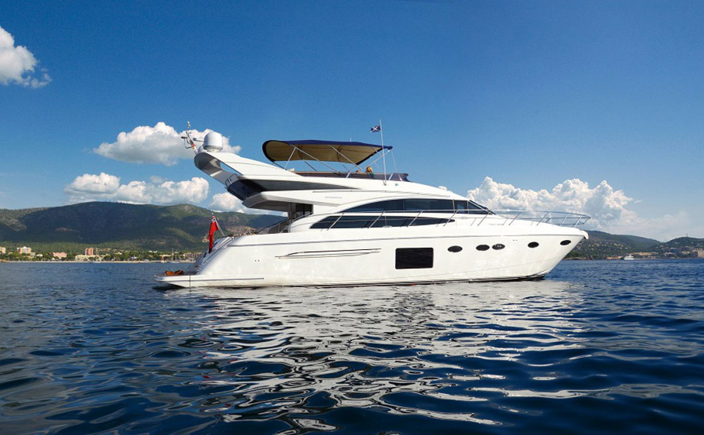 Used Princess 64 Flybridge Yacht For Sale