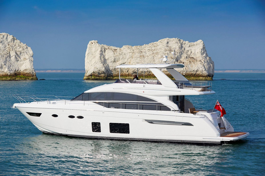 Used Princess 68 Flybridge Yacht For Sale