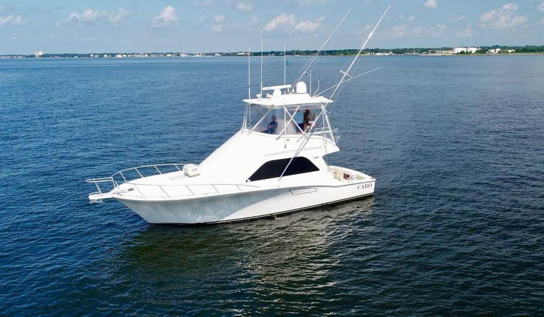Used Cabo 40 Convertible Yacht For Sale