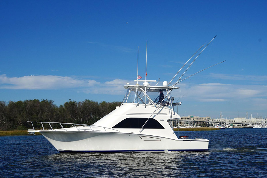 Used Cabo 40 Flybridge Yacht For Sale