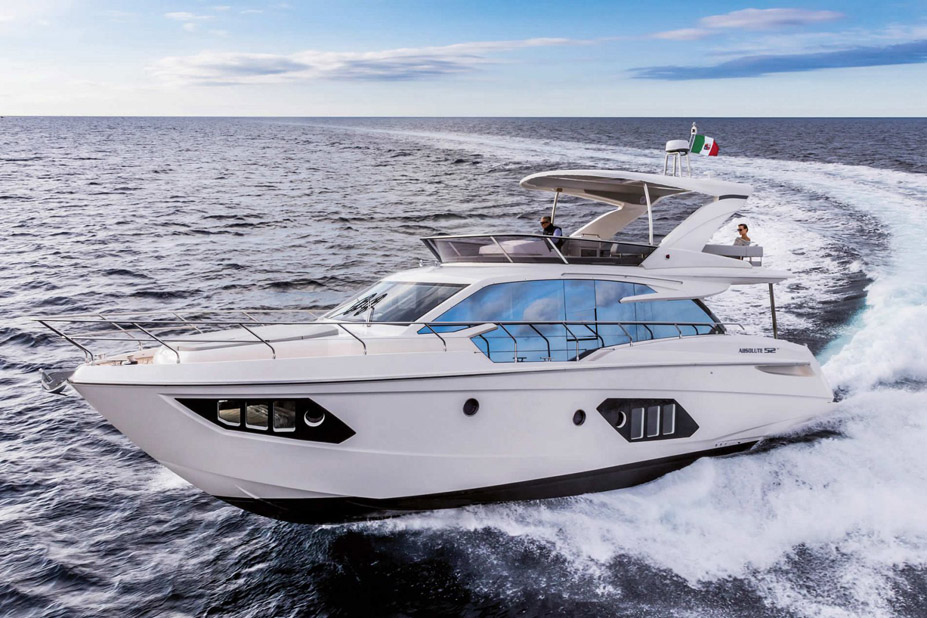 Used Absolute 52 Flybridge For Sale