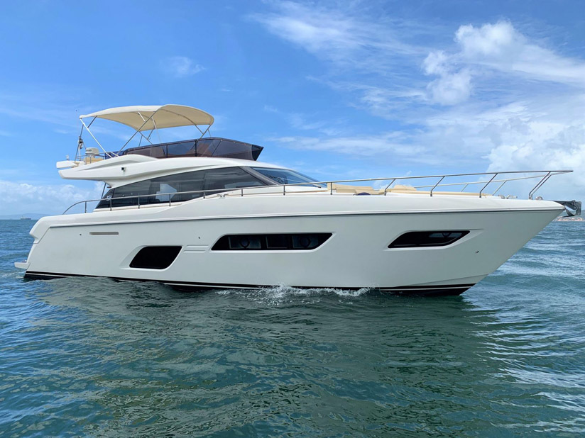 Used Ferretti 550 Yacht For Sale
