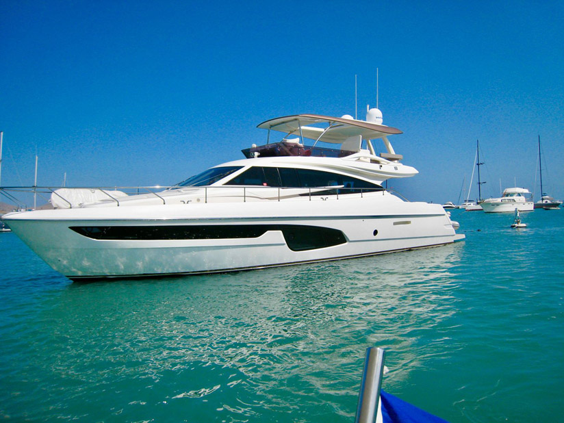 Used Ferretti 650 Yacht For Sale