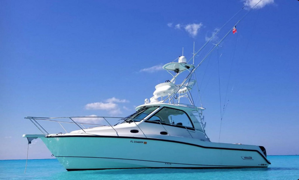Used Boston Whaler 345 Conquest Pilothouse For Sale