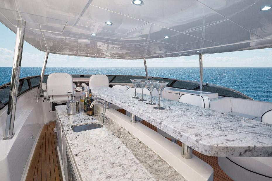 photo of Hatteras Yachts 105 Raised Pilothouse