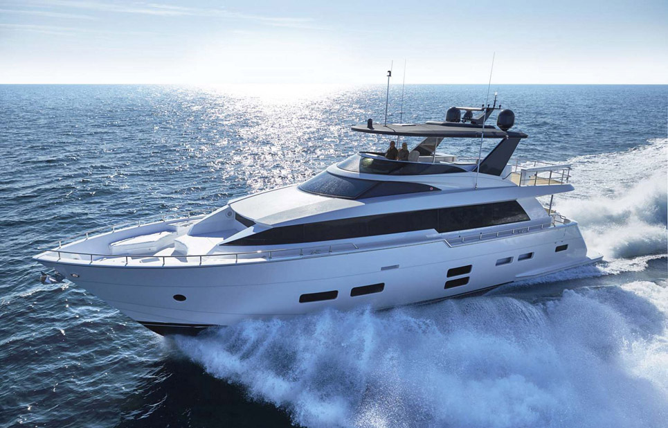 photo of Hatteras Yachts M75 Panacera
