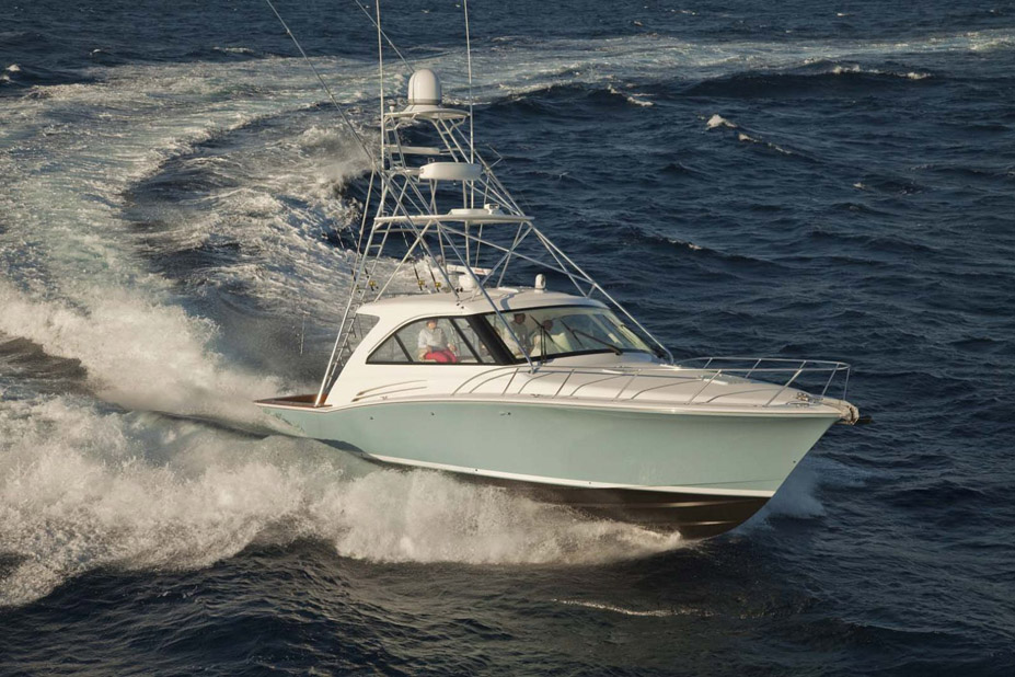 Hatteras Yachts GT45X Sport Tower