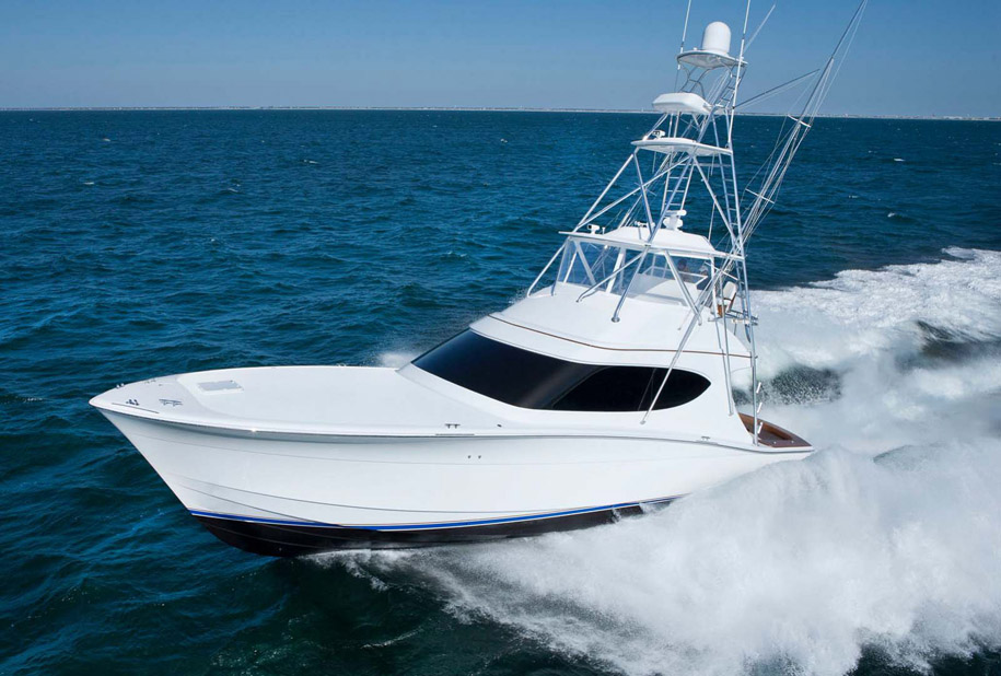 Hatteras Yachts GT54