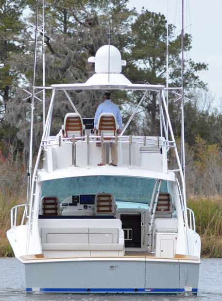photo of Hatteras Yachts GT45X Flybridge