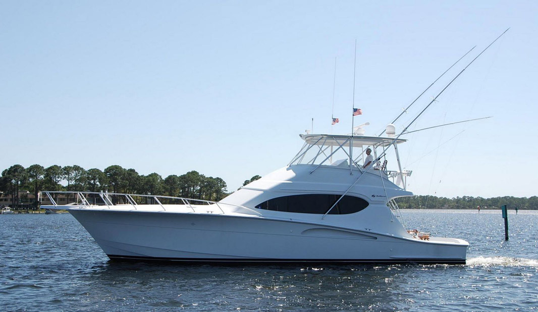 Hatteras 54 Convertible Yacht For Sale Profile Image