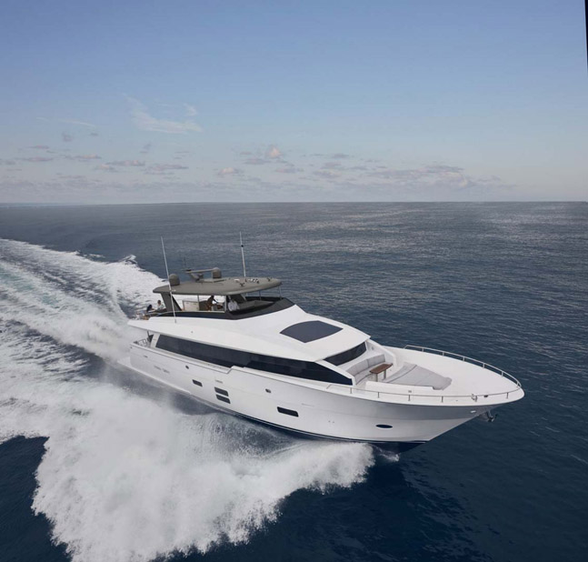 photo of Hatteras Yachts M90 Panacera