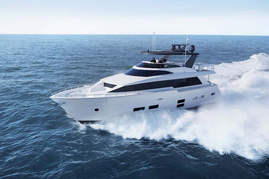 photo of Hatteras Yachts M75 Panacera