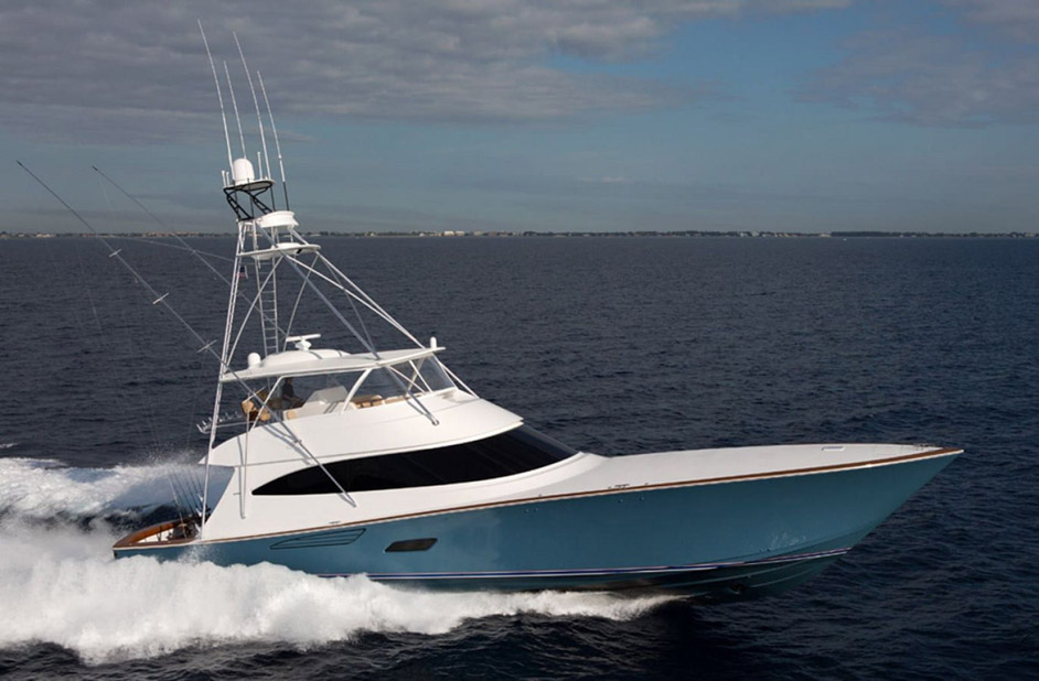 Used Viking 80 Convertible For Sale