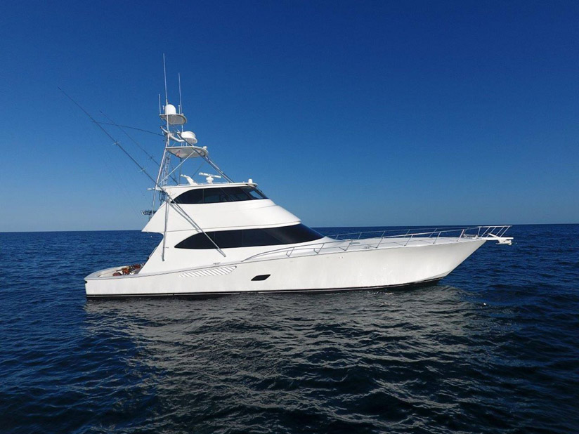 photo of Used Viking 76 Enclosed Bridge For Sale