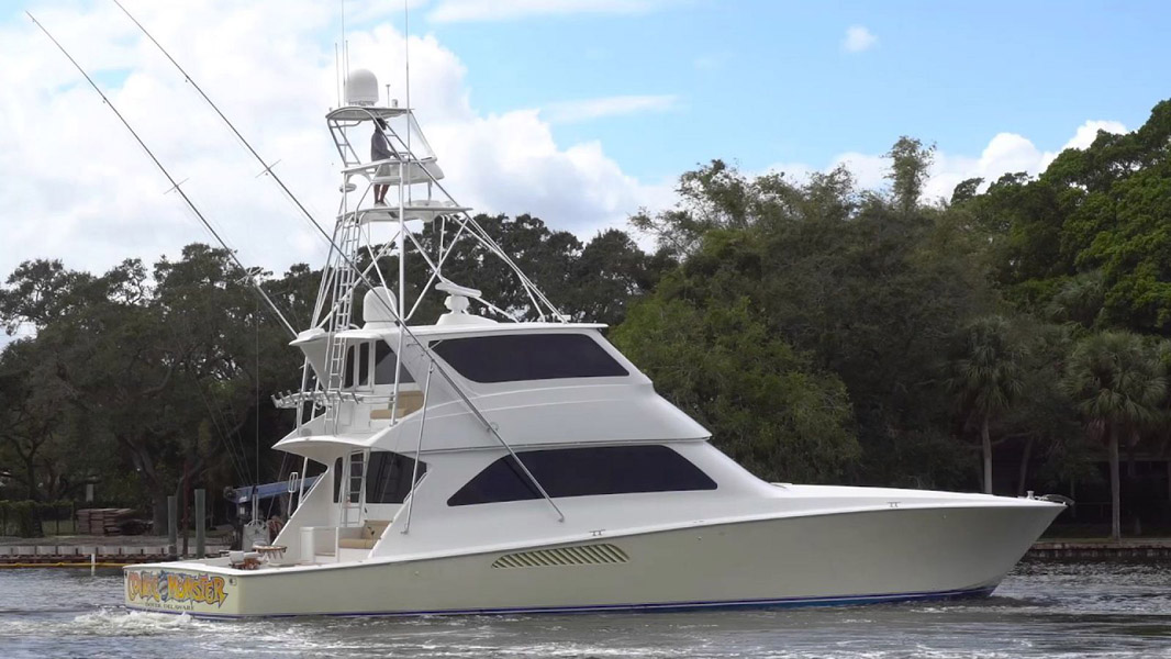 Used Viking 74 Enclosed Bridge For Sale