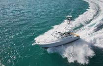 photo of Cabo Yachts 41 Express for sale running