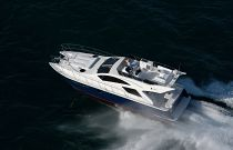 photo of overhead view of the mares 45 power catamaran