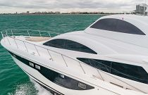 photo of Side planks on the Dyna 68 Yacht