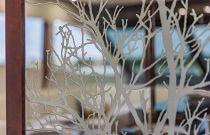 photo of custom glass on the dyna 68