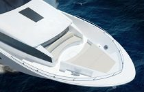 photo of Hatteras 105 RPMY Bow Lounge And Sun Pads