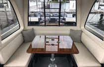photo of gulfstream 52 salon table