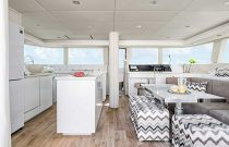 photo of Galley and Dining Area