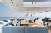 photo of Flybridge Sofa - sunreef 80