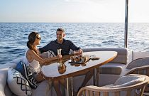 photo of Hatteras M60 Outdoor Dining