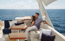 photo of Hatteras M60 Outdoor Seating