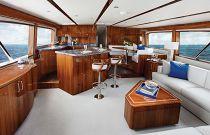 photo of Hatteras GT70 Interior