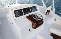 photo of Hatteras GT63 Command Center