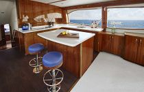 photo of Hatteras GT63 Galley Island