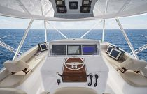 photo of Hatteras GT63 Upper Helm