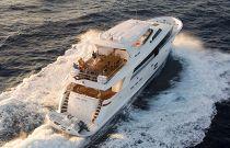 photo of Hatteras 100 Motor Yacht Birds Eye