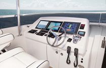 photo of Hatteras 100 Motor Yacht Upper Helm