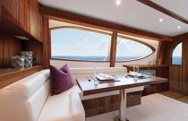 photo of Hatteras Yachts GT54 Salon Seating