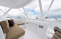 photo of Hatteras Yachts GT54 Flybridge Seating 2