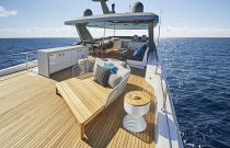 photo of Hatteras M90 Panacera Flybridge Overview