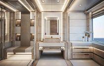 photo of Virtus Yacht 44m Master Bathroom