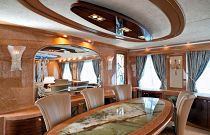 photo of Amer Yachts 100 Dining room